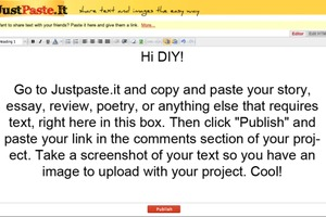 How to use JustPaste.it