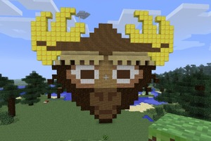Moose Avatar in Minecraft