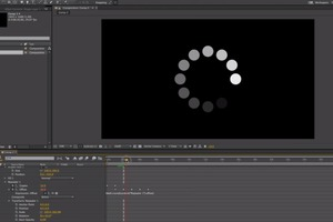 Video Tutorial: Circle Loading Animation (After Effects)