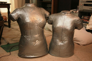 How To Make a Duct Tape Dress Form