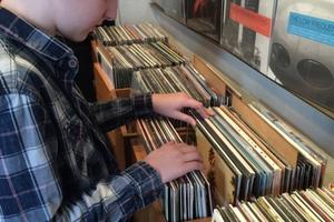 Buying vinyl in Copenhagen