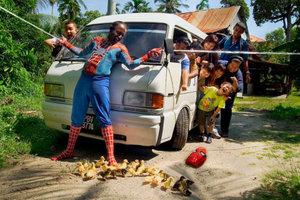 Spider Man Scene