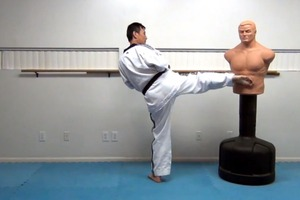 Taekwondo footwork : Lesson # W-7