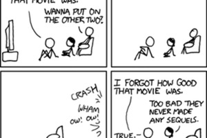 Create a Xkcd-style Comic