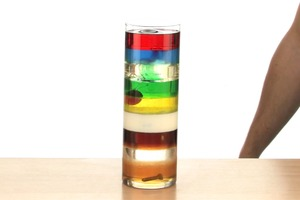 Nine Layer Density Tower