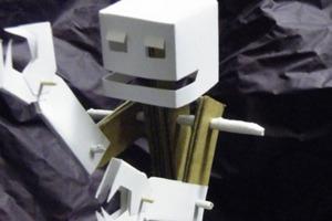 Glueless Cardboard Robot