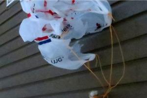 Plastic Bag Parachute