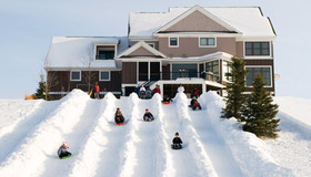 Build a Backyard Luge