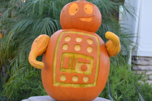 #pumpkin2015 Little Robot