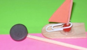 Make a Tiny Magnetic Boat