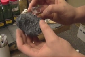 How to Make Miniature Asteroids
