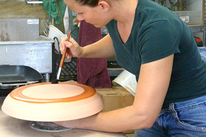 How To Glaze a Clay Project