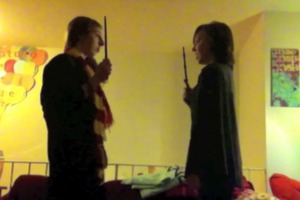 AMAZING Harry Potter Dueling Club Reenactment