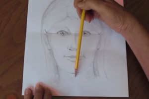 How To Draw a Quick, Simple, and Easy Self-Portrait