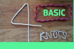 The Four Basic Knots