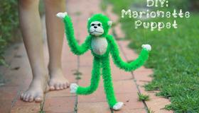 DIY Maronette Puppet
