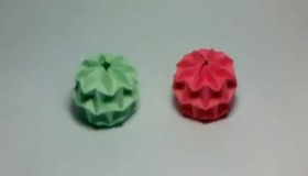 Mini Magic Ball Origami