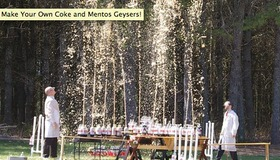 Diet Coke and Mentos Eruption How-To