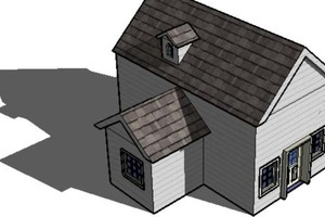 Basic House in Sketchup
