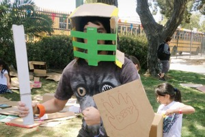 Cardboard Battle Gear