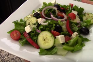 Easy Greek Salad Appetizer