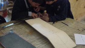 Students Make First Skateboards in Afghanistan