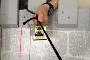 Lego Zip Line