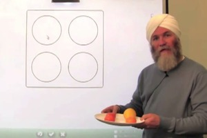 Learn Fractions With Fruit