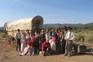 Volunteer at a Reenactment