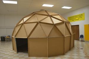 Cardboard Planetarium