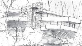 Fallingwater Sketch Timelapse