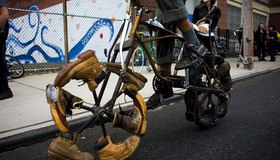 Boot Wheel Bike