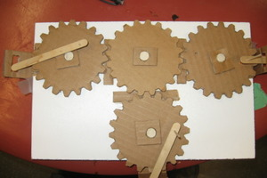Gears from Cardboard