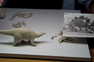 Sculpting A Stegosaurus - Part 1