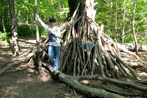How To Build a Stick Fort