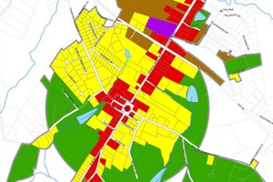 Danielsville, Georgia Zoning Map