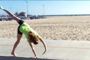 How To Do A Cartwheel On The Balance Beam