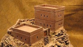 Desert Fortress Model