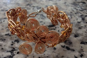 Copper Wire Bracelet