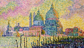 Pointillist Painting by Signac