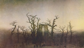 Gothic Painting by Friedrich