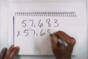 """Arthur Benjamin: Lightning calculation and other """"Mathemagic"""""""