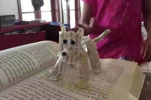 My paper dog time lapse