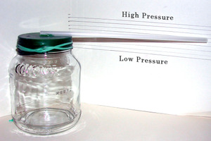 Glass Bottle Barometer