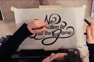 Hand Designed Font
