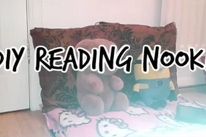 DIY Reading Nook!