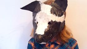 Paper Maché Mask