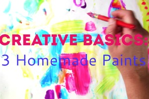 How to Make Paint: 3 Easy Homemade Paints