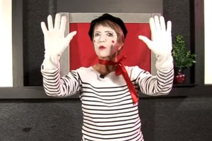 Mime Basics: Trapped in a Box