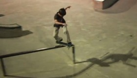 Zane and Trey Visit a Skate Park